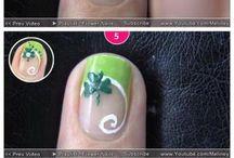 step by step nail designs