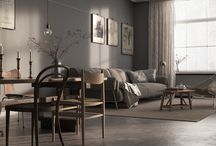 Swedish apartment – Malmö / Interior Visualization