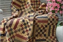 Warm cuddly quilts! / I need to make these someday!