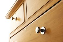 Cabinet Hardware / Whether a room is modern or traditional, cabinet hardware has an impact on the style and feel of a space. Each choice of style, metal, and finish will make a statement on your cabinets.