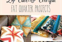 Fat quarter sewing progects