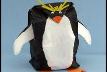 Penguin Crafts for Kids / Penguin Crafts Kids Can Make