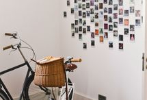 Photo walls and polaroid