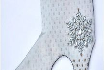 FASHION CHRISTMAS STOCKINGS / Hand made Christmas Stockings Italy