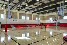 School Gymnasiums / Our state-of-the-art school gymnasiums