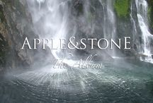 Apple & Stone - ARTWORKS / ARTWORKS of our Albums, Singles, The Mix Sets etc.