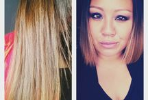Beauty, hair style