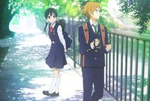 awww anime / Mostly love-dovey couple crap (because ever now and then you need to just see love even if you don't have it in your life).