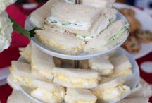 High tea / Sandwiches scones