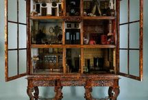 Dollhouses and room boxes