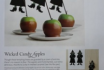 Candy apples  marshmellows