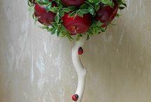 из овощей и фруктов