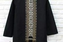 Idea model baju batik/tenun