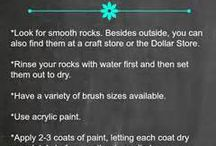 tips for painting rocks