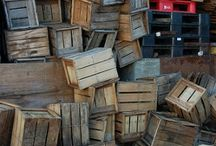 wood into crates   .....creates