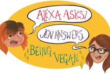Alexa Asks About Going Vegan / Got commonly asked questions about veganism? Each week we answer another commonly asked question about veganism.