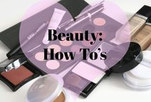 { Beauty Tutorials } / Beauty Routines to help you achieve the look that you want!