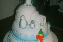 Cake Happy Feet