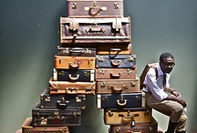 art direction - suitcase archive