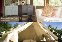 Cuckoo Down Farm Glamping / Six luxury glamping tents in 39 beautiful acres of east Devon, near Sidmouth to book email enquiries@cuckoodownfarm.co.uk www.cuckoodownfarm.co.uk
