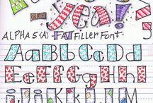 Journal Lettering