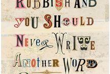 Nada is loud - words... / by Nada von R