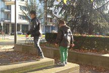 Kids Playing, Age of Innocence / Two guys feeling good