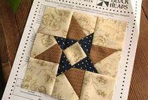 patchwork csillag