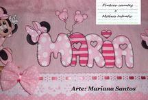 toalhinha de bebê pintada