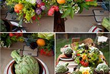 Fruits wedding