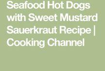 Sauerkrauts and Seafoods
