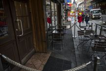 PUB IN OSLO WHERE 2 UNDERCOVER POLICE PRESENTED THEMSELVES AS CRIMINALS TO B E T E W' S CROWD