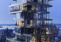 Architecture vertical housing