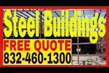 Steel Buildings Houston / Steel Building Construction Contractor in Houston TX