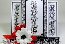 Cards White & Black