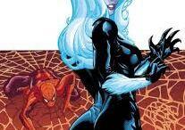 gata negra e homem aranha