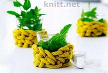 Knitting/crochet: home