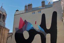 Street art / oiseau