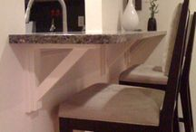 Customer Gallery-Countertop Corbels / Customer submitted photos of Tyler Morris Woodworking corbels.  As incentive, all customers receive a discount code for 15% off their next order.