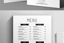minimalistyczne menu