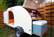 Teardrop Trailers / The Nodpod is our own trailer, for hire with Lola (or on own, subject to availability.) The other trailers on this board are ones we like but do not own.