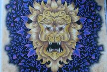 Enchanted Forest - Lion