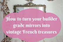 diy french mirror