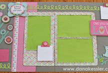CTMH Scrapbooking pages