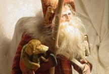 Primitive Christmas Art and Decor / Primitive Christmas Art and Decor