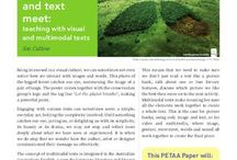 Digital & Multimodal Texts / Teaching using digital and multimodal texts. Ideas and resources  to teach using digital and multimodal texts.