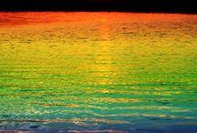Rainbows / Beautiful colourful things
