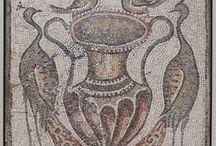 mosaici e animalii