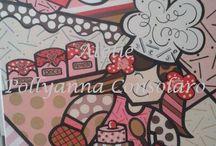 Minhas obras!! / A arte que me inspira, com um mundo de muitas cores e formas!!