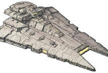 Spacecraft - Battle Ships